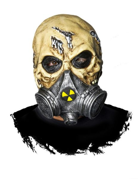 Biohazard Mask Fancy Dress Disguise